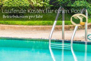 Quel est le coût d'entretien d'une piscine?